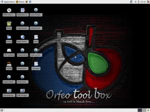 OTB Live CD desktop